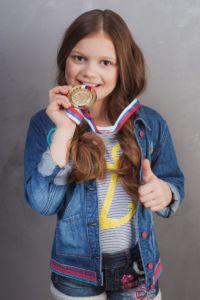 9-летняя Глафира Кулиш из Волгограда завоевала титул маленькая Мисс Вселенная